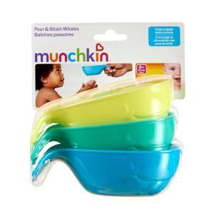 マンチキン クジラ型手桶 子供用風呂おけ 3個セット Munchkin|spl