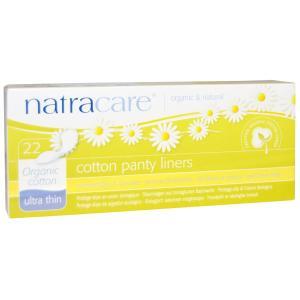 ナトラケア オーガニックコットン パンティーライナー 超薄型 22枚入り  Natracare|spl