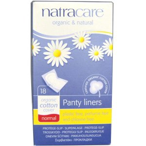 ナトラケア オーガニックコットン パンティーライナーノーマル 18枚入り  Natracare|spl