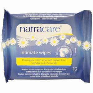 ナトラケア オーガニックコットン デリケートゾーン用ウェットティッシュ12 枚入り  Natracare|spl