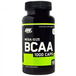 ON 分岐鎖アミノ酸 BCAA1000 メガサイズ 1000mg 60カプセル ON社製 オプティマム オプティマムニュートリション|spl