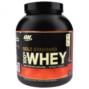 大容量2.27kg 100%ホエイ プロテイン ゴールドスタンダード コーヒー オプティマム社製 オプティマムニュートリション