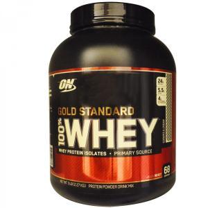 大容量2.27kg 100%ホエイ プロテイン ゴールドスタンダード クッキー&クリーム オプティマム社製 オプティマムニュートリション