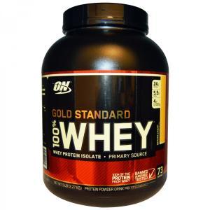 大容量2.27kg 100%ホエイ プロテイン ゴールドスタンダード バナナクリーム オプティマム社製 オプティマムニュートリション
