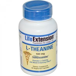 テアニン 100mg 60錠 ライフエクステンション Life Extention|spl