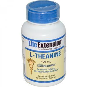 テアニン 100mg 60錠 2本セット ライフエクステンション Life Extention|spl