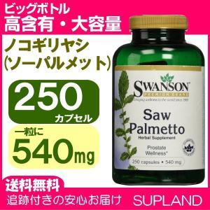 ノコギリヤシ ソーパルメット 大容量 高含有 540mg 250錠 ビッグボトル スワンソン Swanson|spl