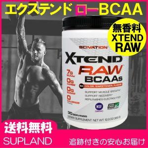 エクステンド ロー BCAA (RAW BCAA) 30配分/366g 無香料 Scivation Xtend サイベーション社|spl