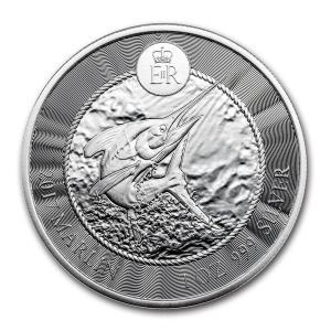 ケイマン諸島 銀貨 シルバーコイン 1oz 希少 .999 収集