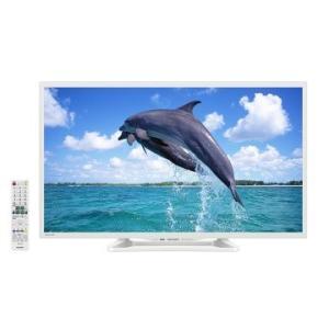 SHARP AQUOS 32V型 ハイビジョン LED液晶テレビ ホワイト系 LC-32W25-W