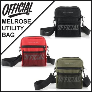 【スポイチ】 OFFICIAL オフィシャル バッグ MELROSE UTILITY BAG ヒップ バッグ ショルダーバッグ アウトドア|spo-ichi