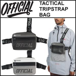 【スポイチ】 OFFICIAL オフィシャル バッグ TACTICAL TRIPSTRAP BAG チェスト バッグ 前掛け ショルダーバッグ ボディバッグ アウトドア|spo-ichi