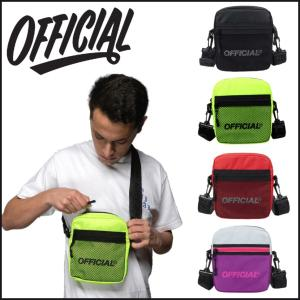 【スポイチ】 OFFICIAL オフィシャル バッグ MELROSE 2.0 HIP UTILITY BAG ショルダーバッグ スケートボード SKATE BOARD アウトドア|spo-ichi