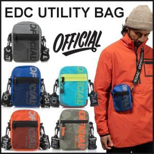 【スポイチ】 OFFICIAL オフィシャル バッグ EDC UTILITY BAG ヒップバッグ ショルダーバッグ アウトドア|spo-ichi