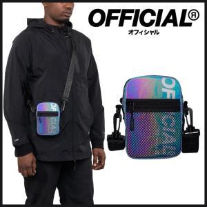 【スポイチ】OFFICIAL Rainbow Reflective EDC Shoulder Bag オフィシャル レインボー リフレクティブ  バッグ ショルダーバッグ|spo-ichi