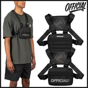 【スポイチ】OFFICIAL オフィシャル バッグ MINI CHEST UTILITY ミニ チェスト バッグ ショルダーバッグ アウトドア スケートボード|spo-ichi