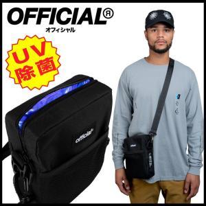 【スポイチ】OFFICIAL UV-C Sterilization Shoulder Bag オフィシャル UV-C 充電式 除菌 ショルダーバッグ アウトドア 感染症予防 消臭|spo-ichi