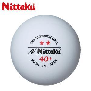 ニッタク NITTAKU プラ2スター3コ 卓球ボール NB-1320