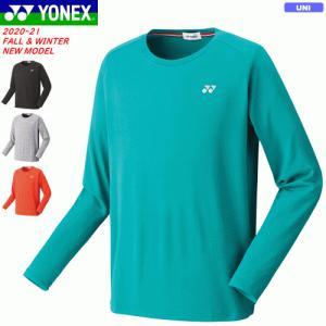 YONEX ヨネックス ソフトテニス ウェア ロングスリーブTシャツ(フィットスタイル) 長袖シャツ...