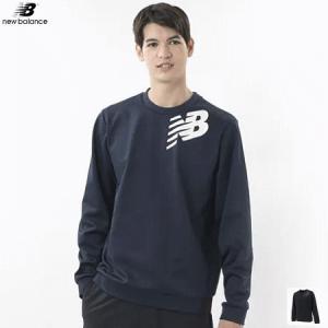 New Balance ニューバランス 長袖シャツ トレーナー ソフトテニス ウェア 移動着 メンズ AMT93024 ソフトテニス連盟公認メーカー|spo-stk