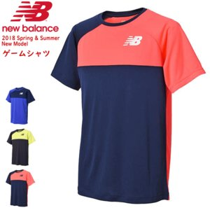 \SALE 40%OFF/即日発送 New Balance ニューバランス ソフトテニス ウェア ゲームシャツ 半袖シャツ ユニホーム  メンズ:男性用 [JMTT8029]ソフトテニス連盟|spo-stk