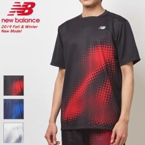 New Balance ニューバランス ソフトテニス ウェア ゲームシャツ 半袖シャツ メンズ JMTT9150 ソフトテニス連盟公認メーカー 1枚までメール便OK|spo-stk