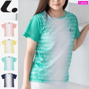 LUCENT ルーセント ソフトテニス ウェア ユニホーム ゲームシャツ(襟なし) 半袖シャツ レデ...