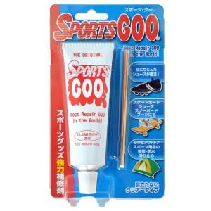 SHOEGOO シューグー スポーツグー 透明 アウトドア スポーツ用 靴 修理 ソール 接着 補修 手入れ ゴム製品 100g  送料無料