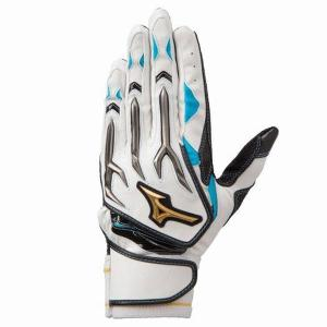 ミズノ(MIZUNO) ミズノプロ シリコンパワーアーク W バッティング手袋(両手用)  1EJEA07801|spokoba