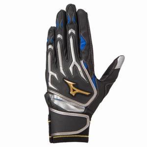 ミズノ(MIZUNO) ミズノプロ シリコンパワーアーク W バッティング手袋(両手用)  1EJEA07809|spokoba