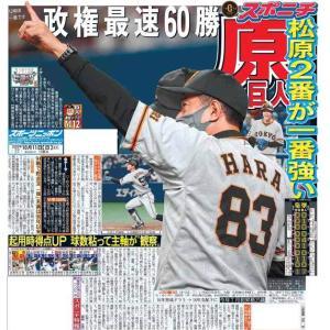 スポーツニッポン東京最終版10月11日付(宅配)