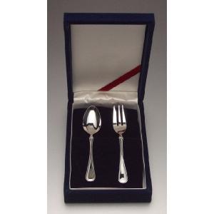 マリアン洋銀バースデースプーン、フォークセット|spoon-shop