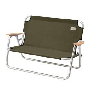 【2018年モデル】 アルミフレームで軽量なベンチ。2人座れるゆったりサイズ ●ニューデザイン ●安...
