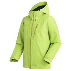 しなやかな2レイヤーのGORE-TEX(R)を使用した、文字どおり全天候型のジャケット。脇の下には2...