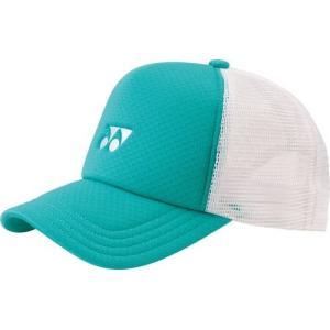 ヨネックス ユニセックス テニス ウエア アクセサリー 帽子 ユニメッシュキャップ 40007-750 エメラルドグリーン 【2016FW】【stst】
