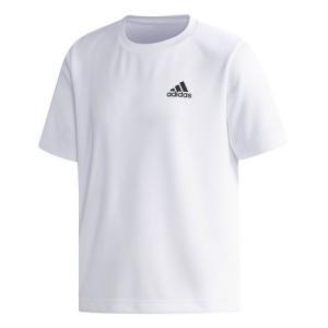 ベーシックワンポイントのポリエステルパックTシャツ。シンプルなデザインで、幅広い着こなしにマッチする...