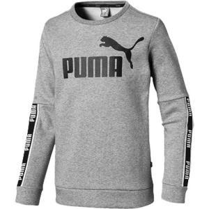 プーマ PUMA ジュニア キッズ スポーツウェア トップス 長袖 AMPLIFIED クルースウェ...