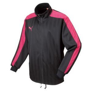 【クーポン発行中】 プーマ メンズ サッカー トレーニング ウェア トレーニングジャケット 862220 - 92 BLACK-FUCH