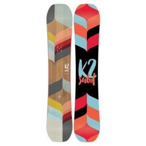 ★K2 (ケーツー) レディース スノーボード LIME L...