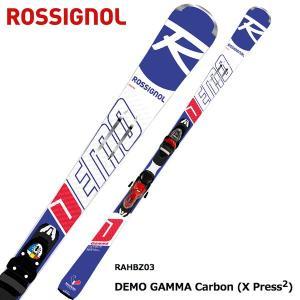 ROSSIGNOL ( ロシニョール スキー板 ) 【18-19 モデル】 DEMO GAMMA CA XPRESS2 + XPRESS 11 B83 BLK/RED 【金具付き スキーセット】