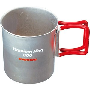 EVERNEW エバニュー チタンマグカップ 300FH RED EBY266R 300ml <メー...