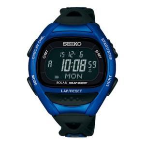 SEIKO セイコー ランニングウォッチ スーパーランナーズ ソーラー SBEF029 時計 メタリックブルー