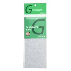 ガリウム GALLIUM サンドペーパー♯100 4枚入 TU0032 sports-ex
