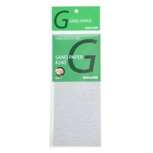 ガリウム GALLIUM サンドペーパー♯240 4枚入 TU0034 sports-ex