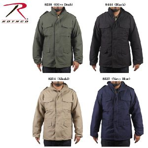 ROTHCO M-65 FIELD JACKET WITH LINER ロスコ ライナー付きフィールドジャケット|sports-ex