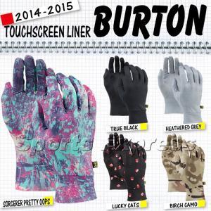 14-15 2015 BURTON TOUCHSCREEN LINER バートン グローブ|sports-ex