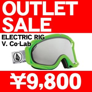 訳あり/アウトレット 14-15 2015 ELECTRIC RIG V. CO-LAB Bronze/Silver Chrome エレクトリック ゴーグル EG1414450/BSRC|sports-ex