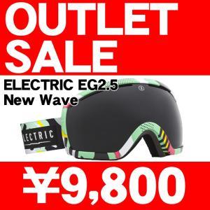 訳あり/アウトレット 14-15 2015 ELECTRIC EG2.5 NEW WAVE Jet Black エレクトリック ゴーグル EG0714300/JBLK|sports-ex