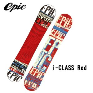 エピック スノーボード 板 EPIC SNOWBOARD i-CLASS Red|sports-ex