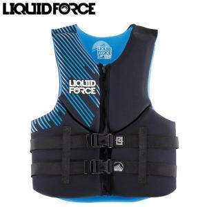リキッドフォース ベスト 2015 LIQUID FORCE VESTS HINGE CLASSIC BLUE ライフジャケット ウェイクボード サーフィン マリンスポーツ